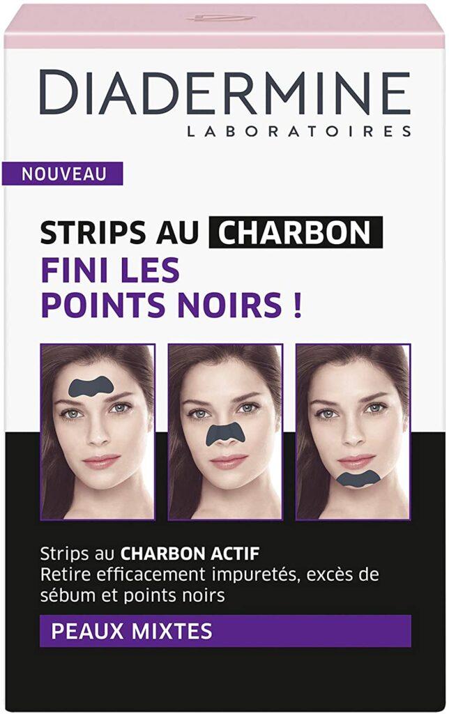 Strips au Charbon Actif Points Noir