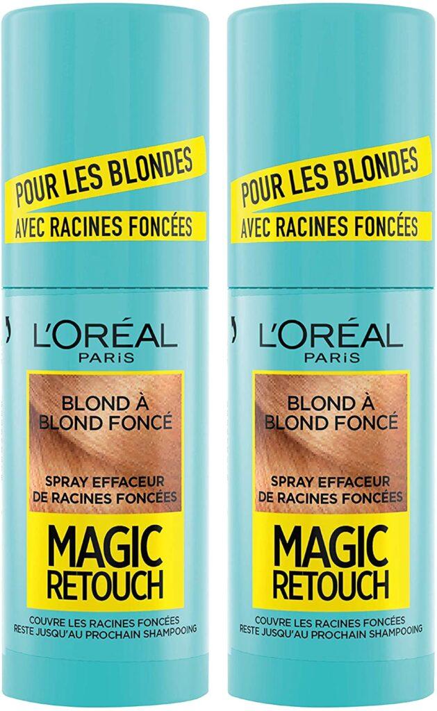 L'Oréal Paris Magic Retouch Racines Foncées Blond à Blond Foncé