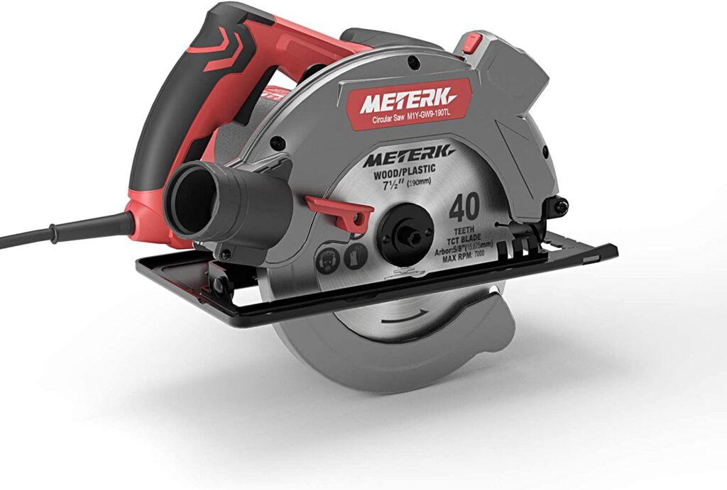 Scie circulaire, Meterk scie circulaire électrique 1500W