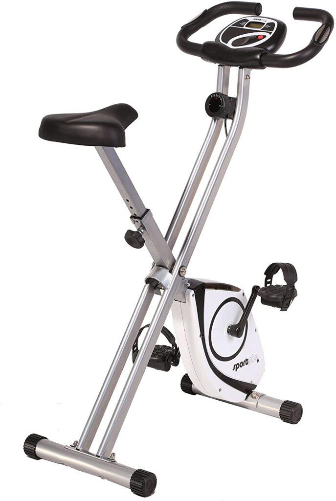 SportPlus - Vélo d'Appartement - Pliable et ultra compact