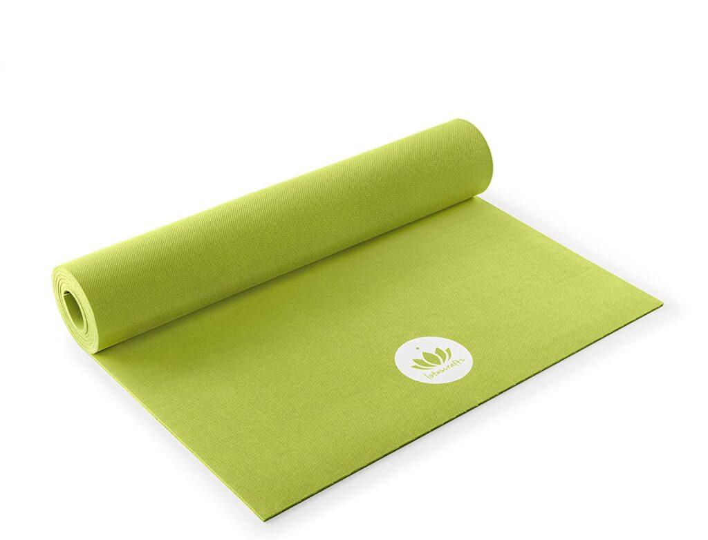 Lotuscrafts Tapis de Yoga  Caoutchouc Naturel Biologique