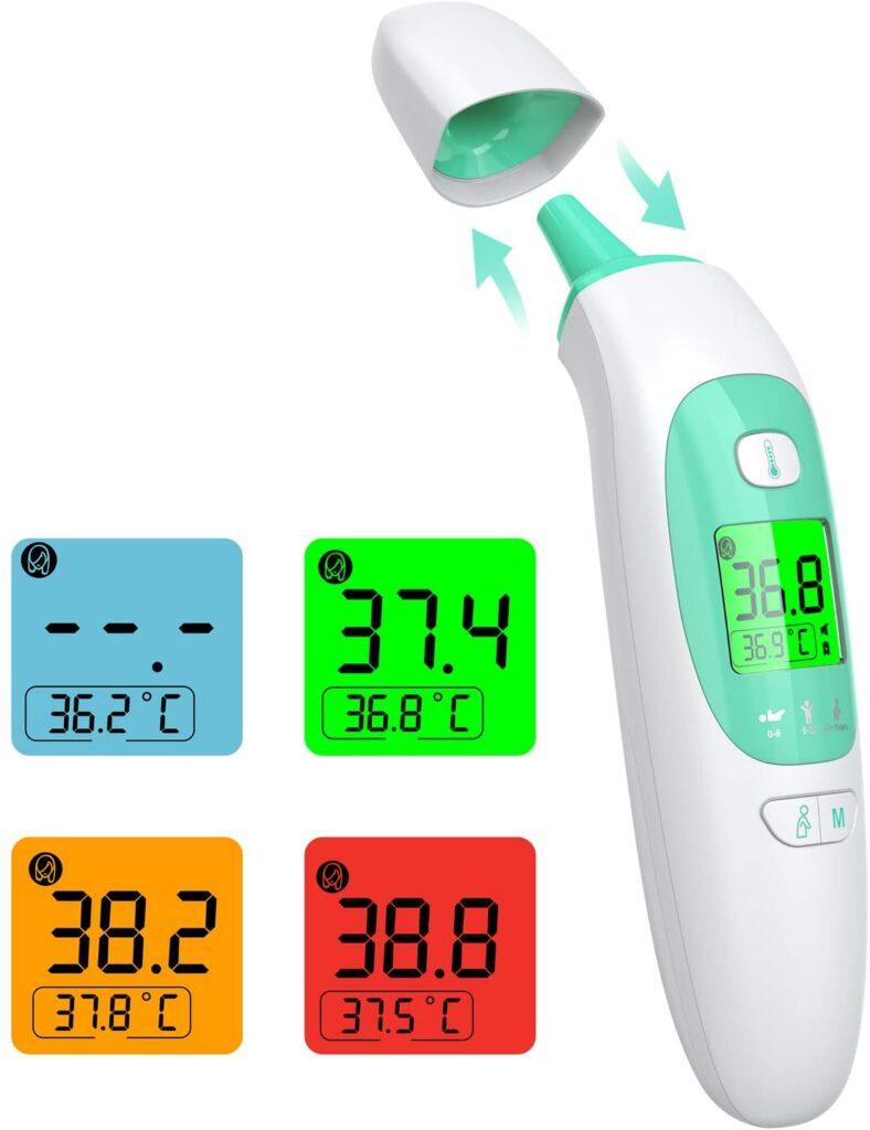 thermomètre infrarouge et digital efficace