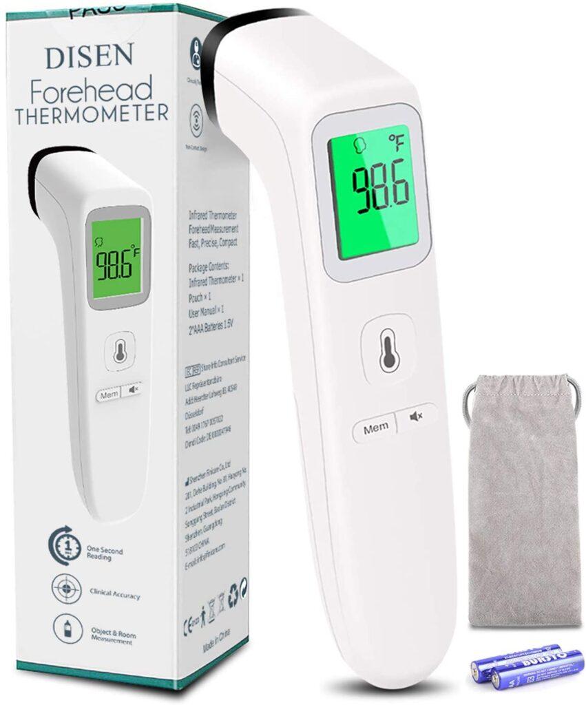 Thermomètre pour bébé sans contact Thermomètre frontal